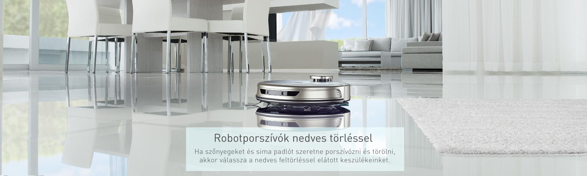 Roomy 4.0 robotporszívó