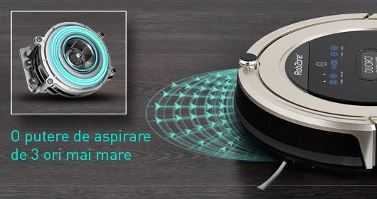 Duoro Xclean, aspirator robot cu putere mare de aspirare.